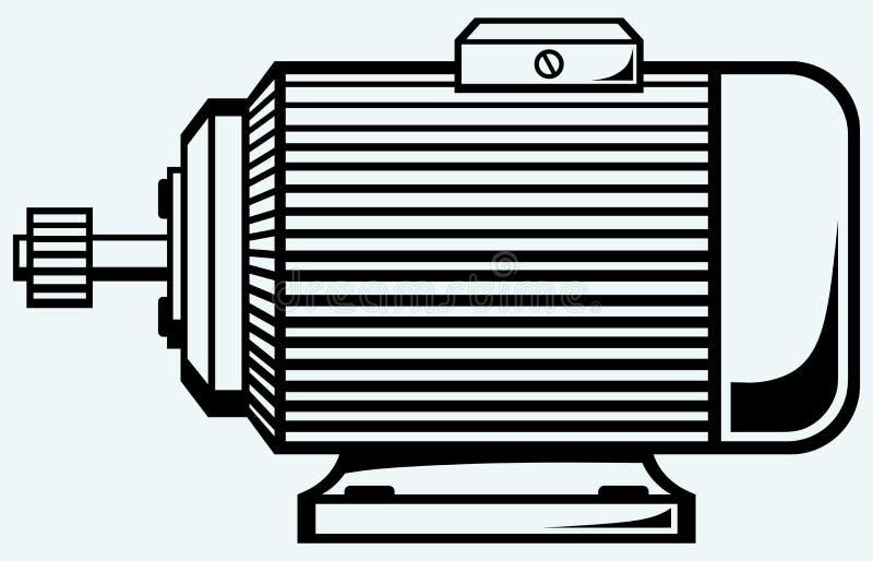 Elektryczny silnik ilustracji
