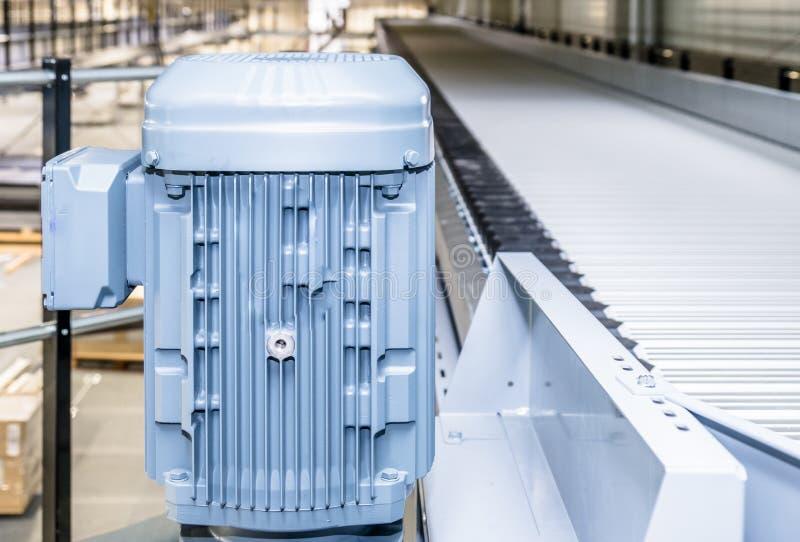 Elektryczny silnik dla sortuje systemu zdjęcia stock