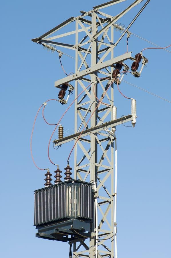 elektryczny transformator obrazy royalty free