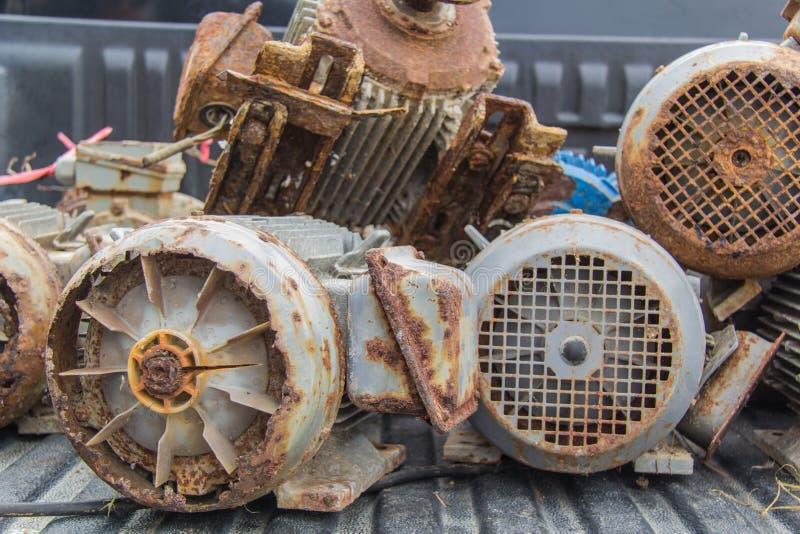 Elektrycznych silników odpady obrazy stock