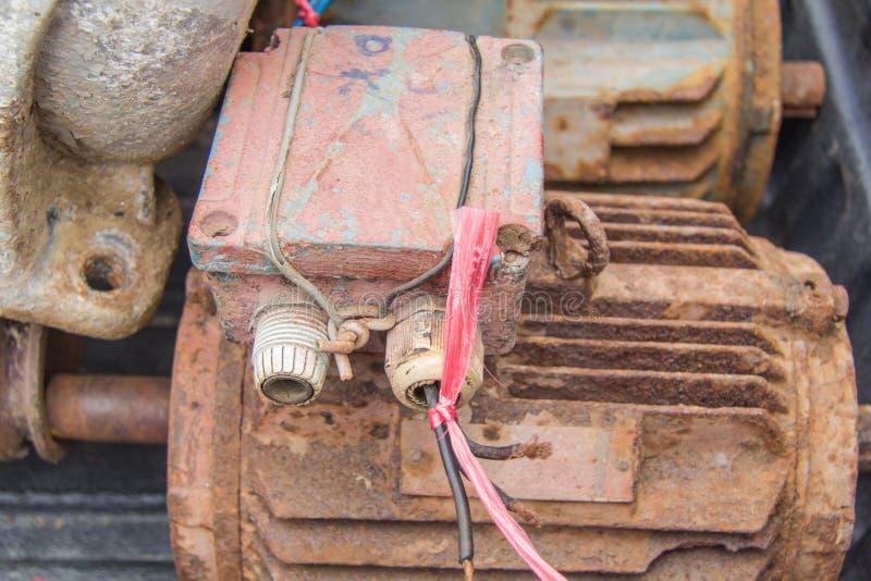 Elektrycznych silników odpady zdjęcie stock