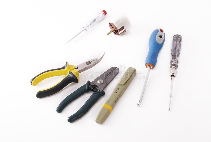 elektryków narzędzia s zdjęcia stock