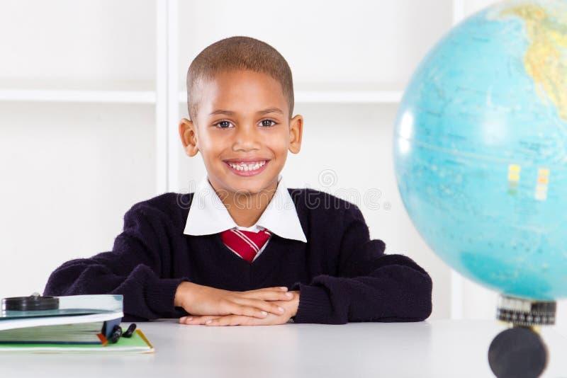 elementär schoolboy royaltyfria foton