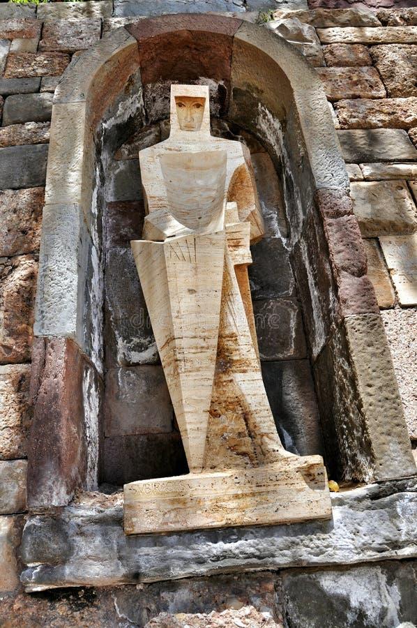 Elementów i szczegółów monaster Montserrat obraz stock