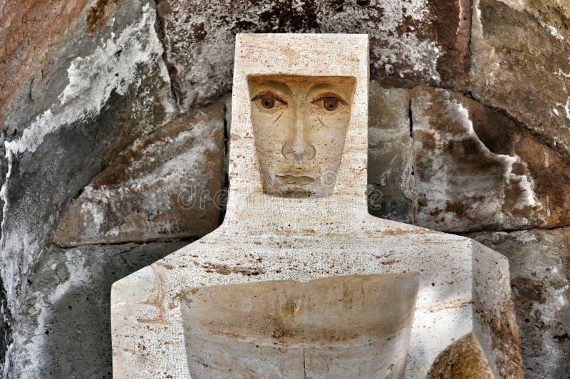 Elementów i szczegółów monaster Montserrat fotografia stock