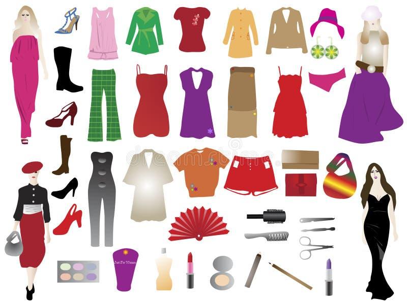 Elementów mody sylwetki