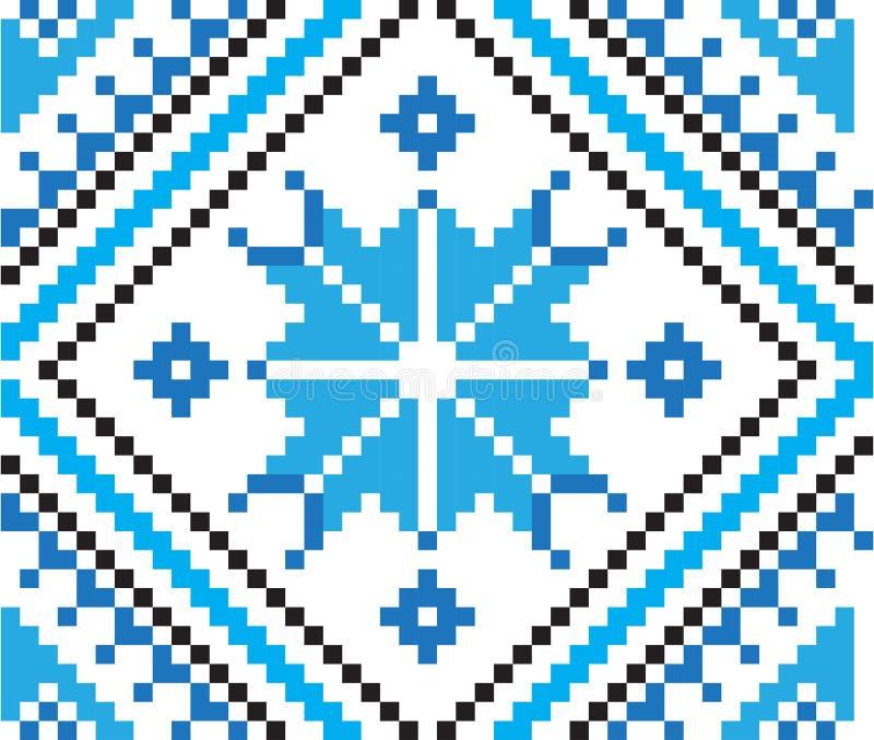Element etniczny ornament, bezszwowy wzór również zwrócić corel ilustracji wektora ilustracji