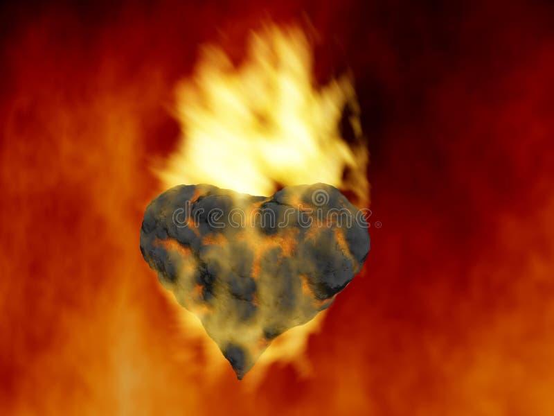 Download Element fire stock illustration. Illustration of valentine - 4539537