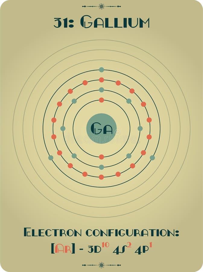 Element gal ilustracji