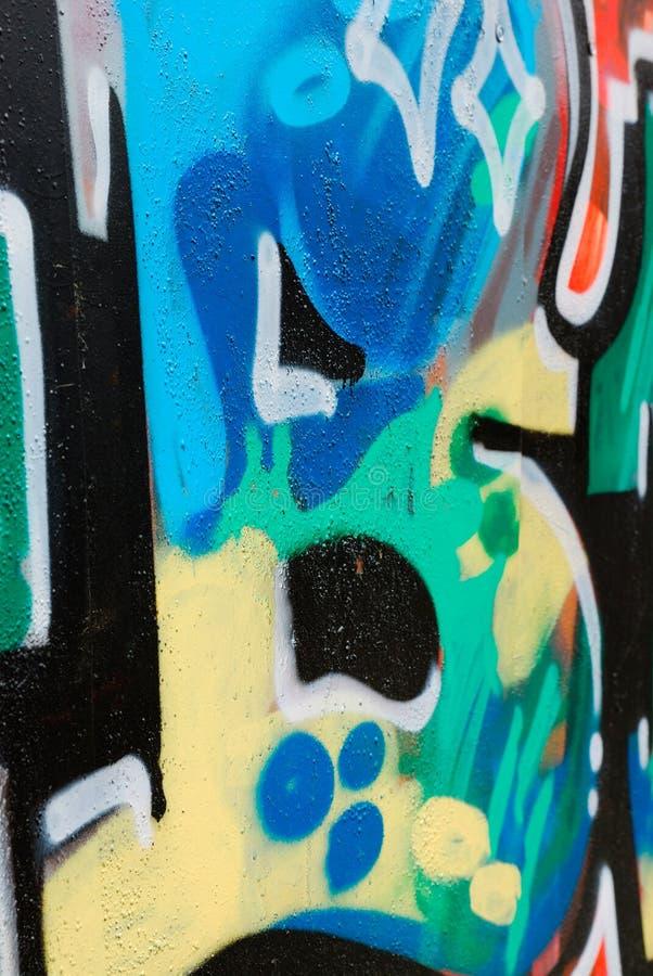 Element of graffiti royalty free stock photography