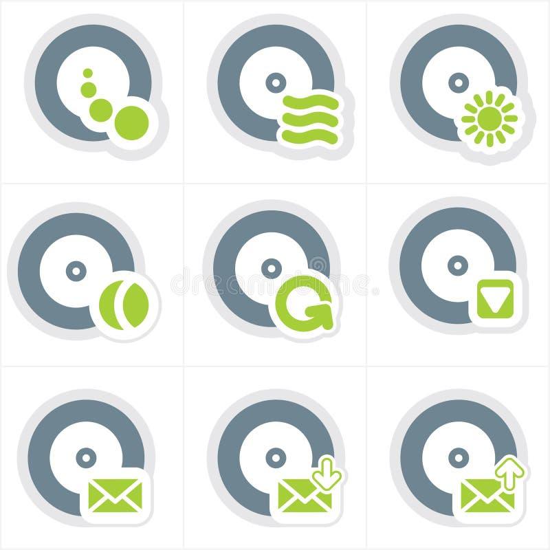 element p för design 22c stock illustrationer