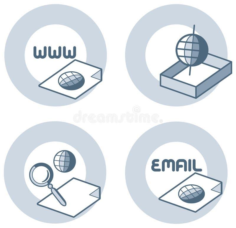 element p för design 4g royaltyfri illustrationer