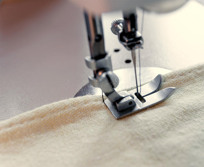 Element Of A Sewing Machine Stock Photography