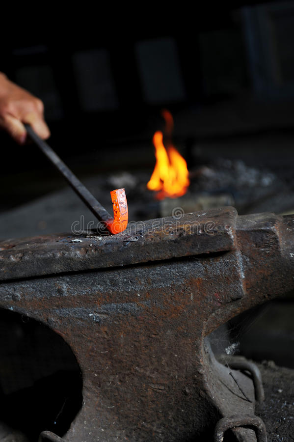 Element In The Smithy Stock Image