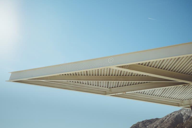 Element van de Palm Springs het Moderne Architectuur royalty-vrije stock foto's