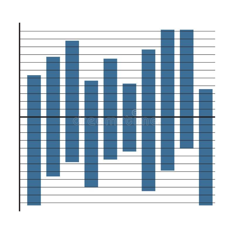 Element van grafiek stock illustratie