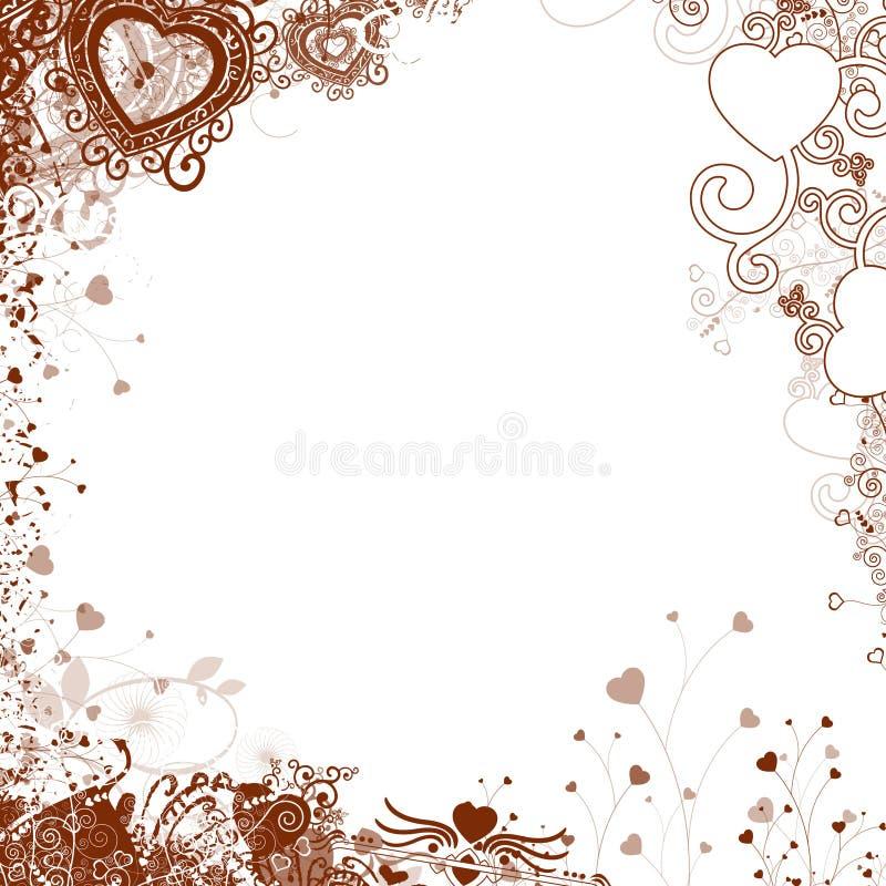 Element voor ontwerp, frame, illustratie stock afbeeldingen