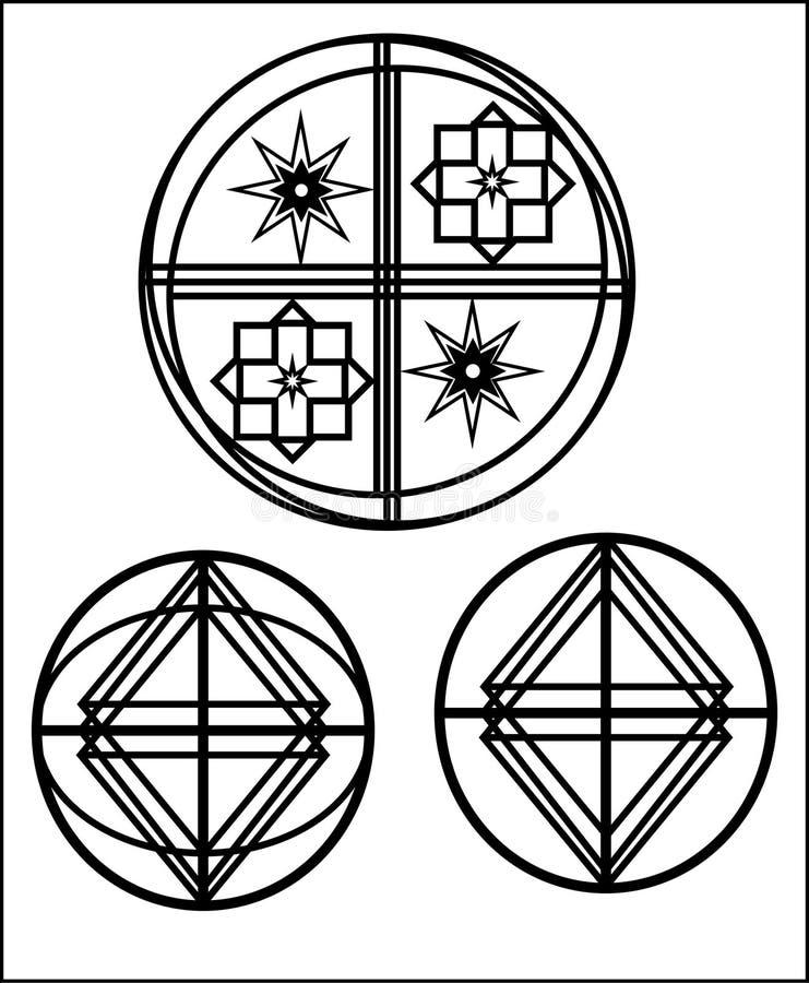 Element z projektem ilustracji