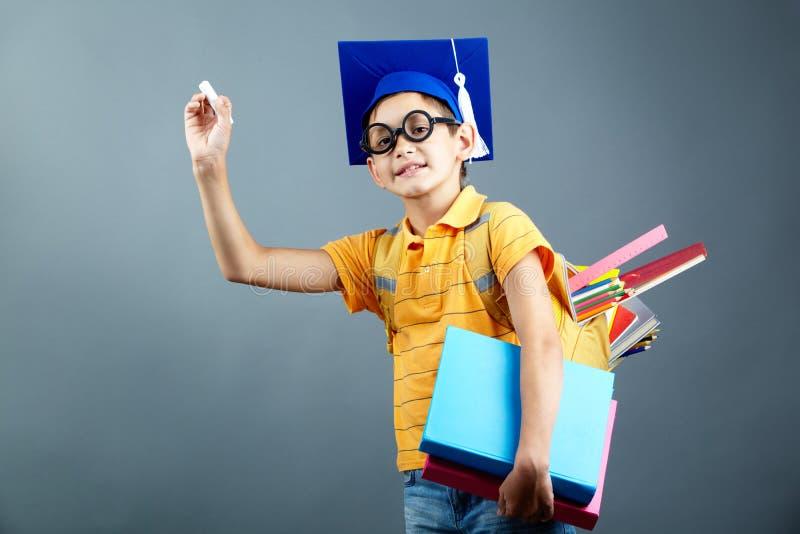 Elementaire student stock foto