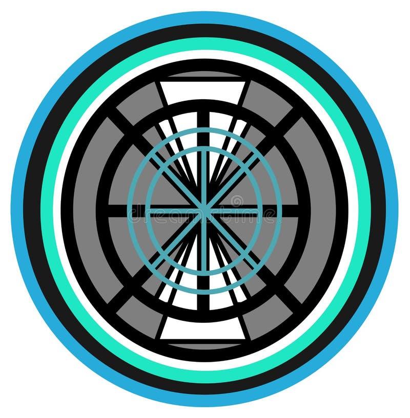Elementary design for wheel stock images