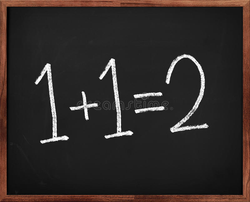 Download Elementary Math stock photo. Image of white, sign, write - 18958558