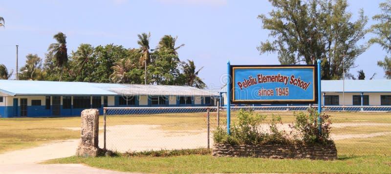 Peleliu Elementary School stock image