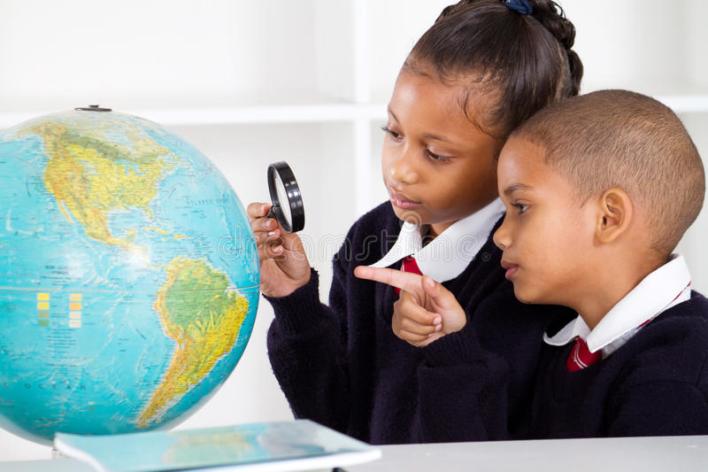 Download Elementary school students stock image. Image of learner - 20484601