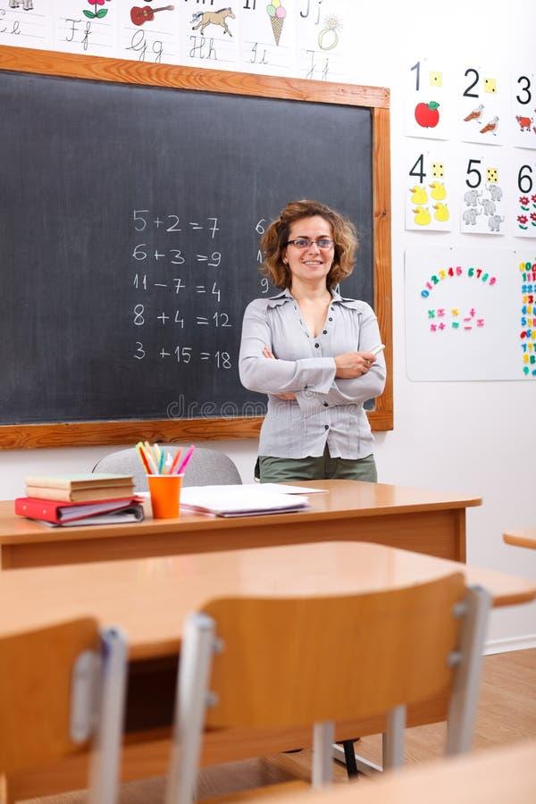 Download Elementary school teacher stock photo. Image of professor - 20265582