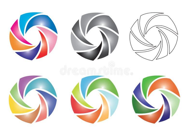 Elemente in der Farbe vektor abbildung
