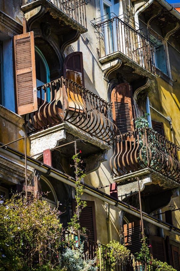 Elemente der Stadt von Verona machten in Italien lizenzfreie stockfotos