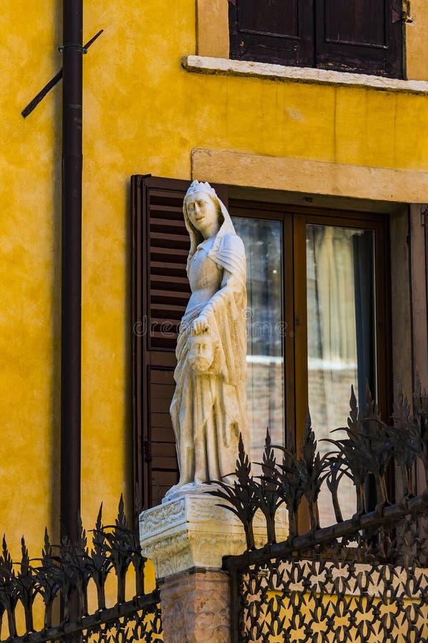Elemente der Stadt von Verona machten in Italien stockfoto