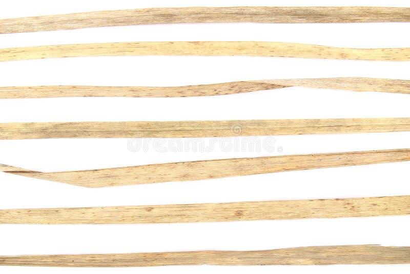Elemente vom trockenen Gras für Grafikdesign auf weißem Hintergrund stockbild