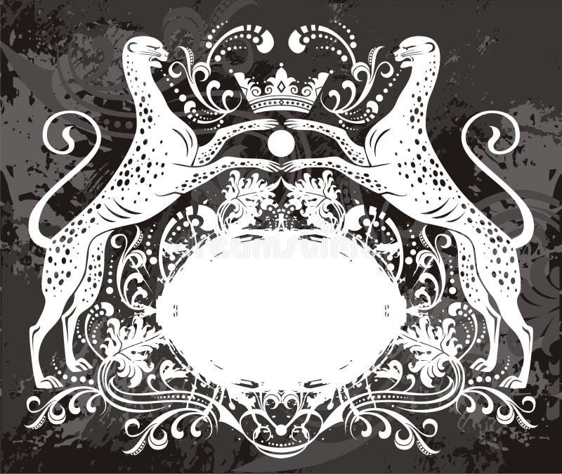 elementemblem royaltyfri illustrationer