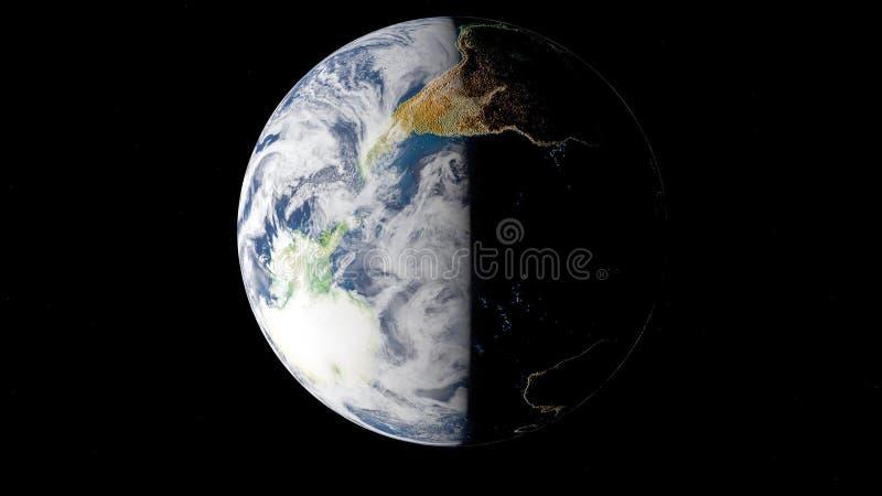 Elementen van dit die beeld door NASA wordt geleverd royalty-vrije illustratie