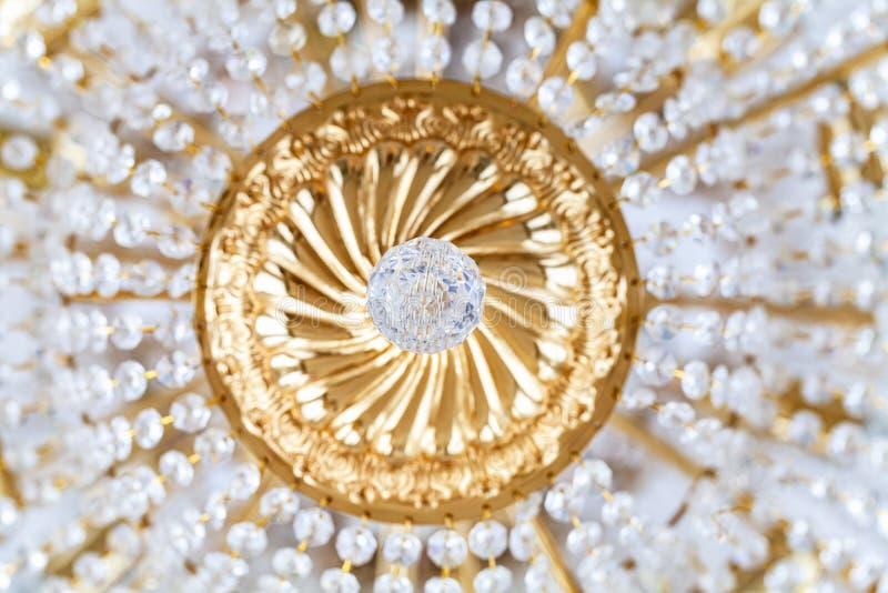 Elementen van ronde uitstekende kroonluchter royalty-vrije stock afbeeldingen
