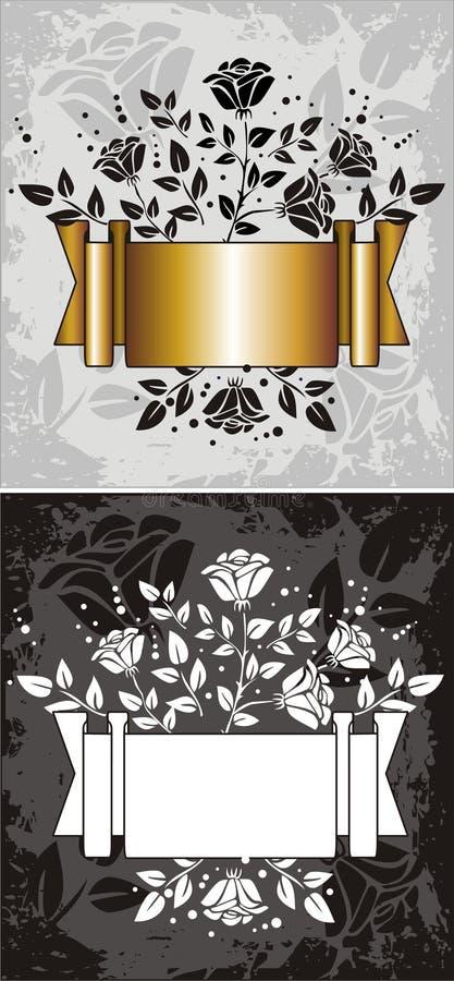 elementetikett royaltyfri illustrationer