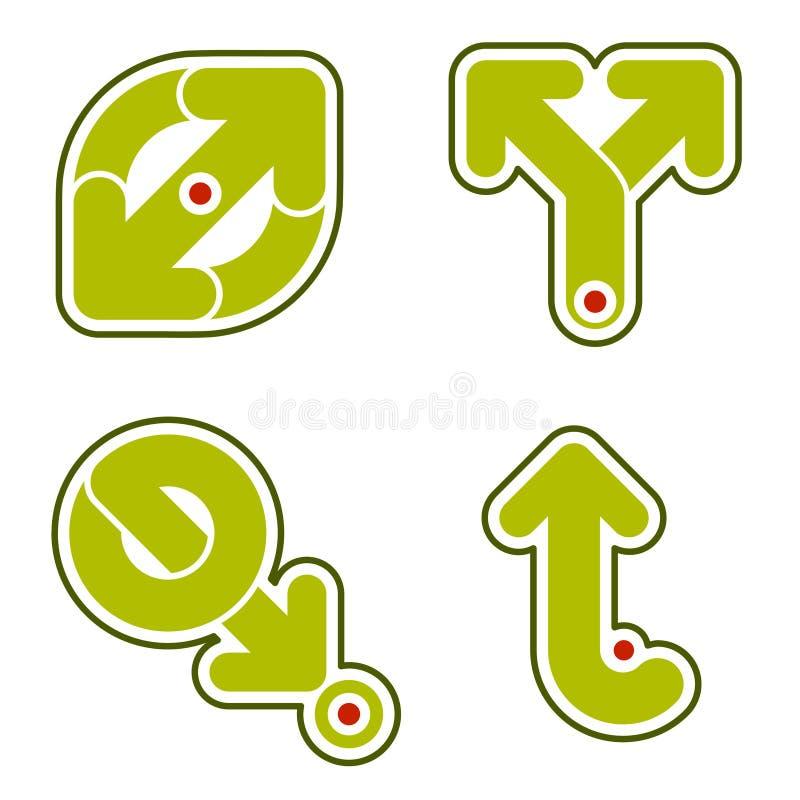 Elementi 31c di disegno illustrazione di stock