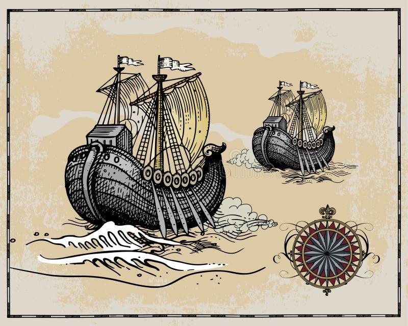 Elementi antichi del programma royalty illustrazione gratis