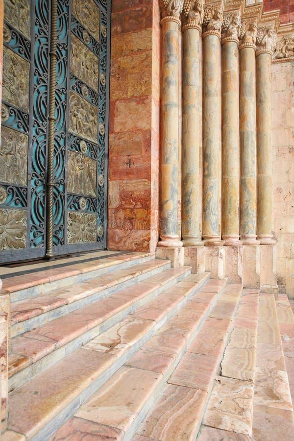 Elementi architettonici della cattedrale fotografie stock libere da diritti