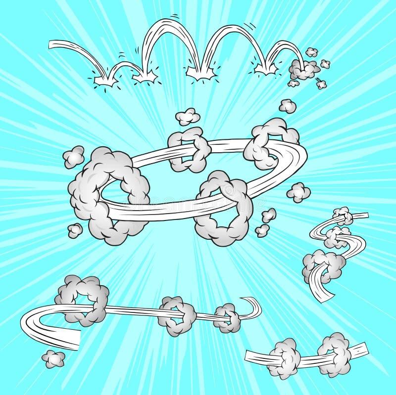 Elementi comici royalty illustrazione gratis