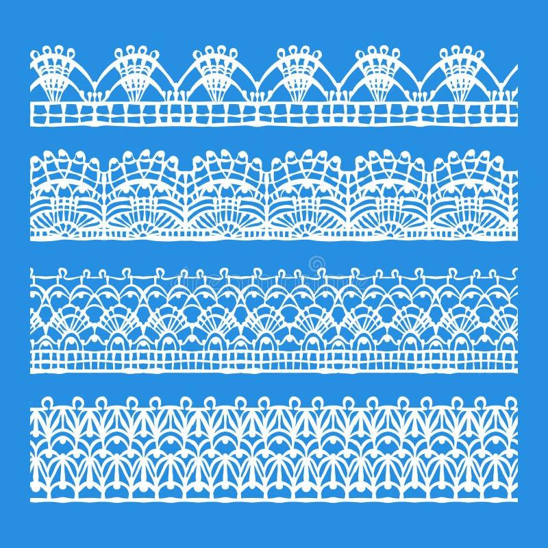 Elementi d'annata di progettazione, retro senza cuciture illustrazione di stock