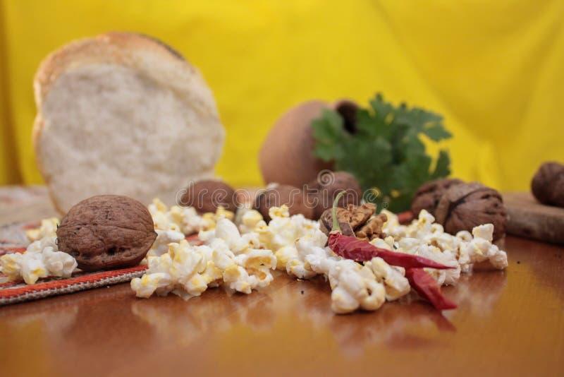 Elementi del Natale bulgaro tradizionale fotografia stock libera da diritti