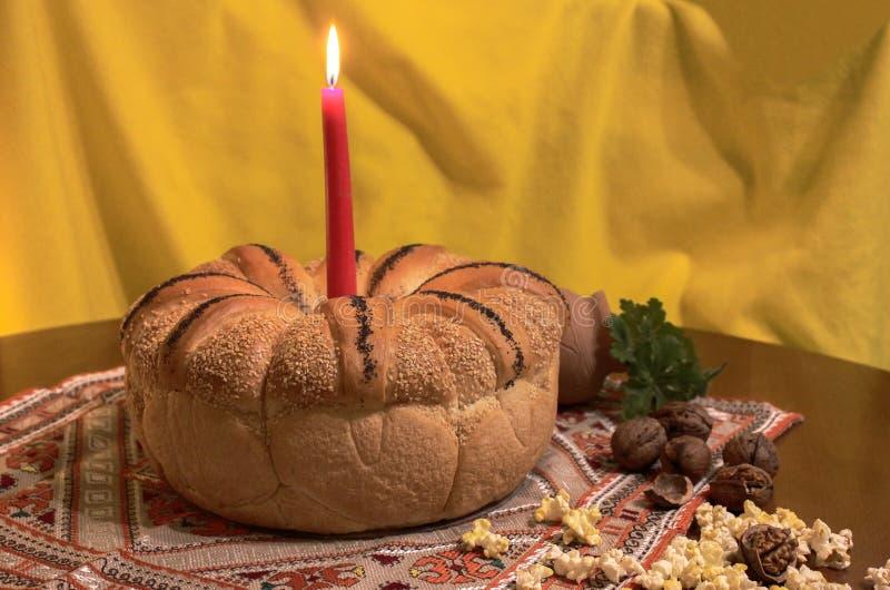 Elementi del Natale bulgaro tradizionale immagini stock libere da diritti