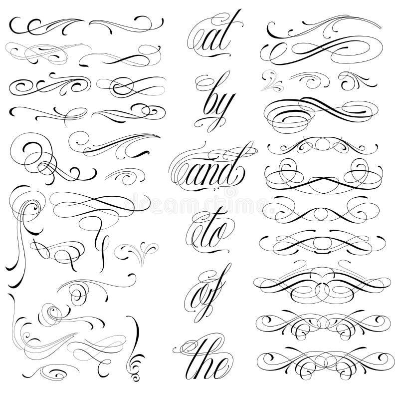 Elementi del tatuaggio immagine stock