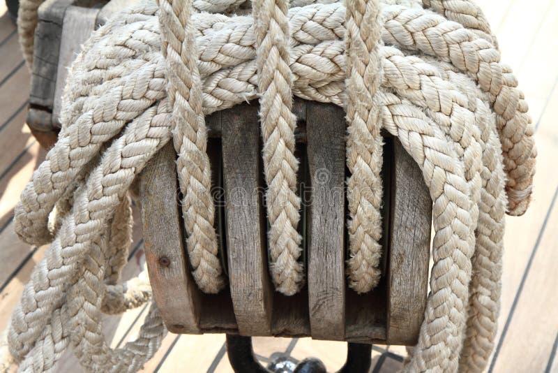Elementi della barca fotografie stock libere da diritti