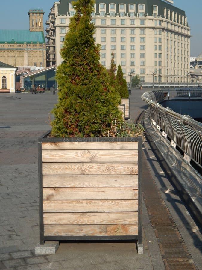 Elementi di architettura del pæsaggio del parco del giardino fotografie stock libere da diritti