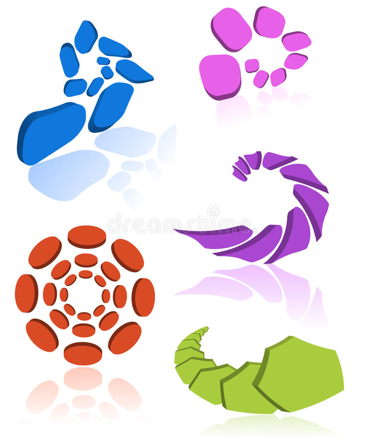 Elementi di disegno illustrazione vettoriale