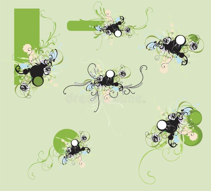 Download Elementi di disegno illustrazione vettoriale. Illustrazione di stylish - 7310539