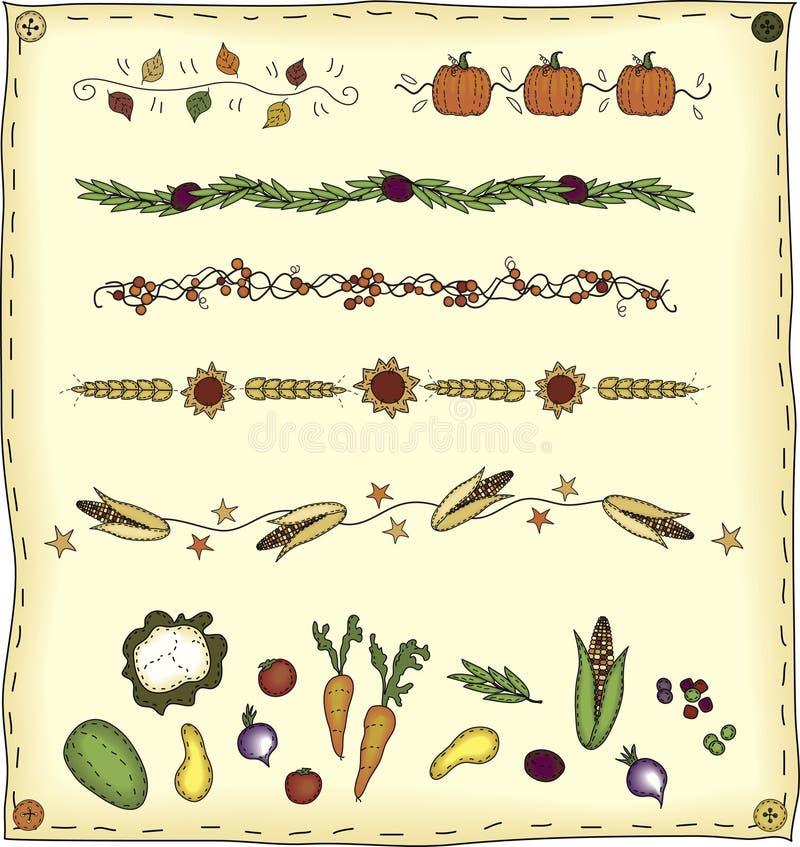 Elementi di disegno della raccolta