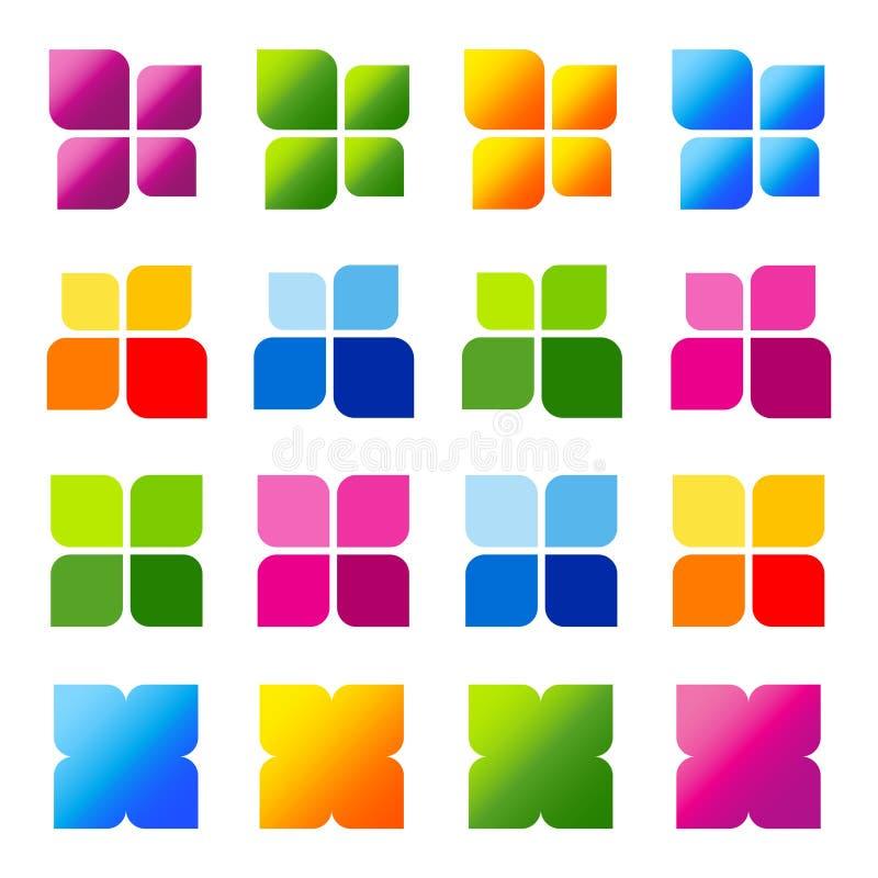 Elementi di disegno di marchio illustrazione vettoriale